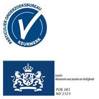 Logo Particulier Onderzoeksbureau Keurmerk
